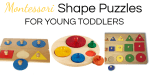 Montessori Puzzles Explained: Shape Puzzles for Toddlers