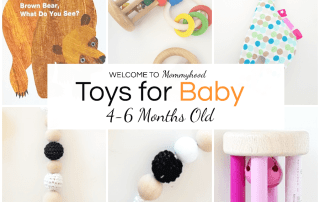 Montessori Toys for Babies 4-6 Months Old #montessoribaby #toysforbabies #montessoritoys