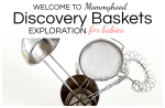 4 Discovery Baskets for Babies