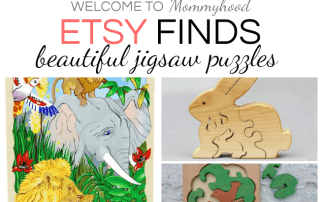 Beautiful etsy puzzles for kids #montessorihome #montessorikids