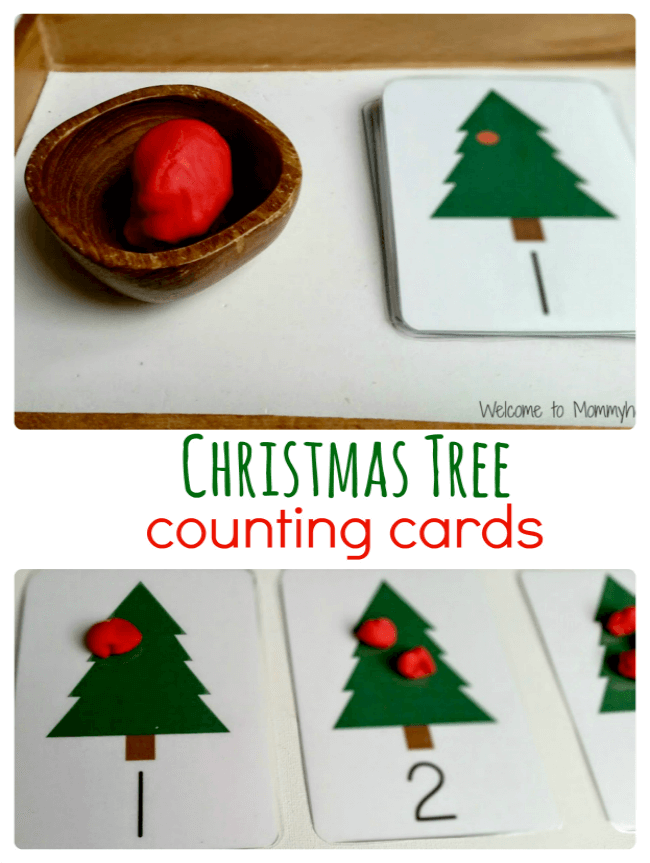 Christmas tree ornament counters