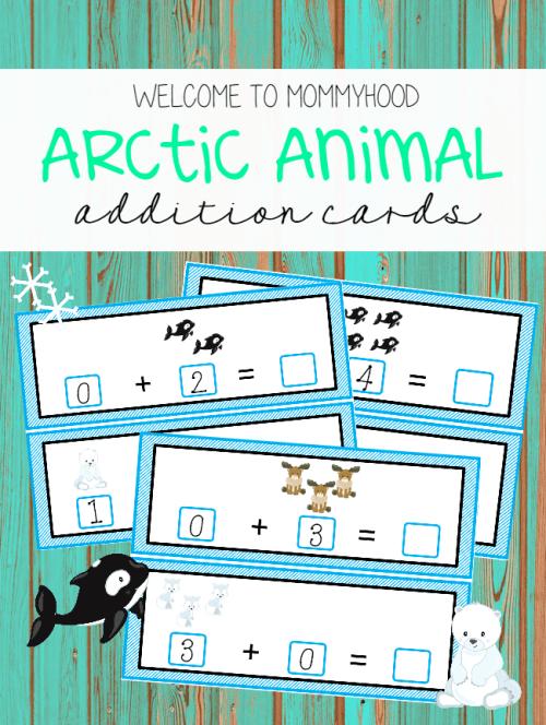 Arctic Animal Addition Strips