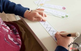Use these printables as Easter Cutting Strips or as Easter Tracing Strips to create beautiful, engaging Easter activities your students will love! #easteractivities #kidsactivities