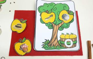 Use these fun apple activities for kindergarten to practice literacy activities and cvc words! Your students will have so much fun! #appleactivitiesforkindergarten #kidsactivities