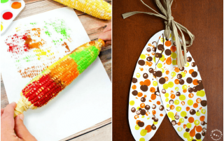 Use these corn themed activities to create awesome hands-on learning opportunities for your preschoolers! They will love exploring corn this fall!