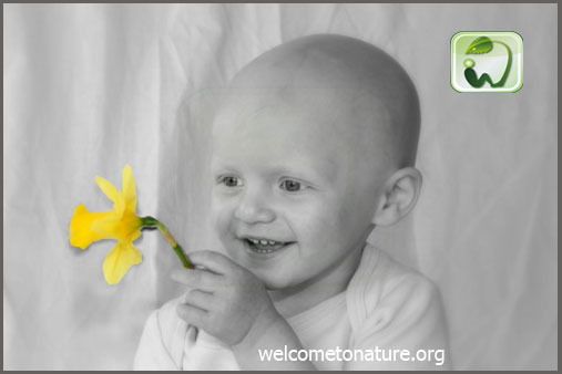 kid after chemo