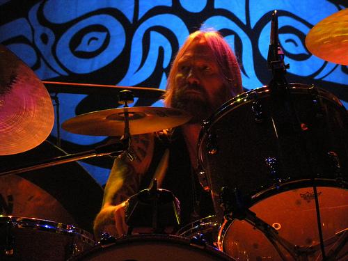 Matt Abts on the drums! - 8/08/09