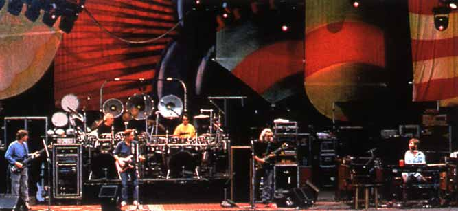 The Dead at the Greek Theatre - 1990