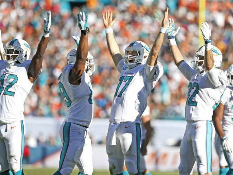 phins celebrate