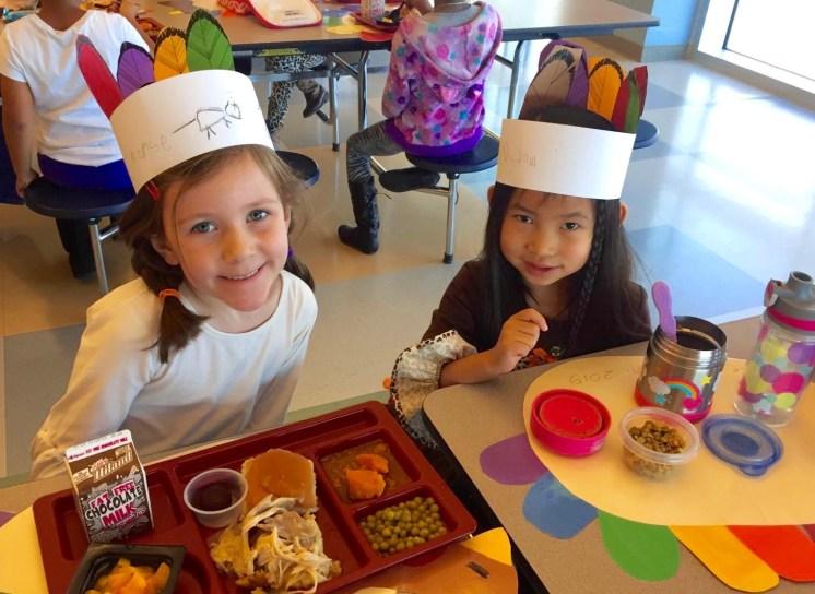 School lunch - Nat always brings a lunchbox