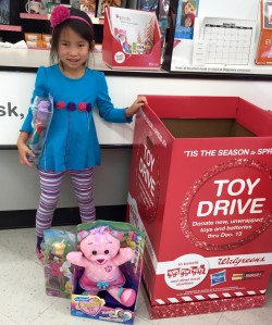 Natalie saves 25% of her allowance for toy donations every Christmas