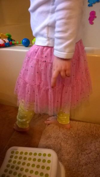 Tutu + PJ pants!