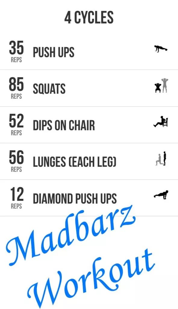 Madbarz Workout : madbarz, workout, MadBarz, Kickstart, Bodyweight, Workouts, Today