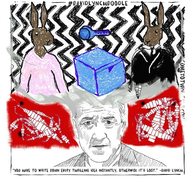 Share Your #DavidLynchDoodle And Catch The Big Fish: A Signed Copy Of David Lynch's Book