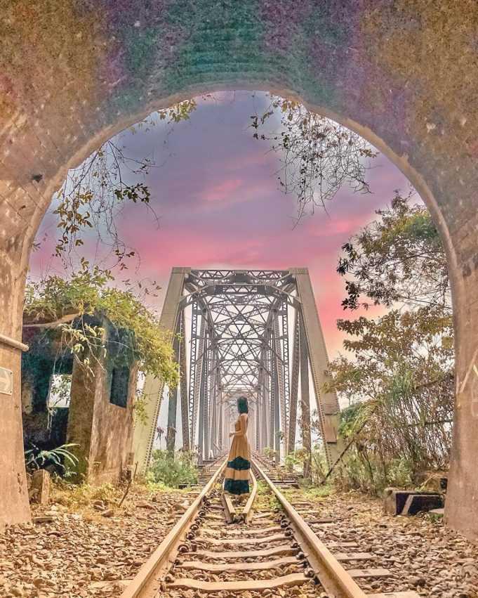 苗栗景點推薦 |#11 舊山線大安溪鐵橋