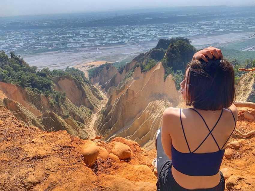 苗栗景點推薦 |#10 火炎山大峽谷