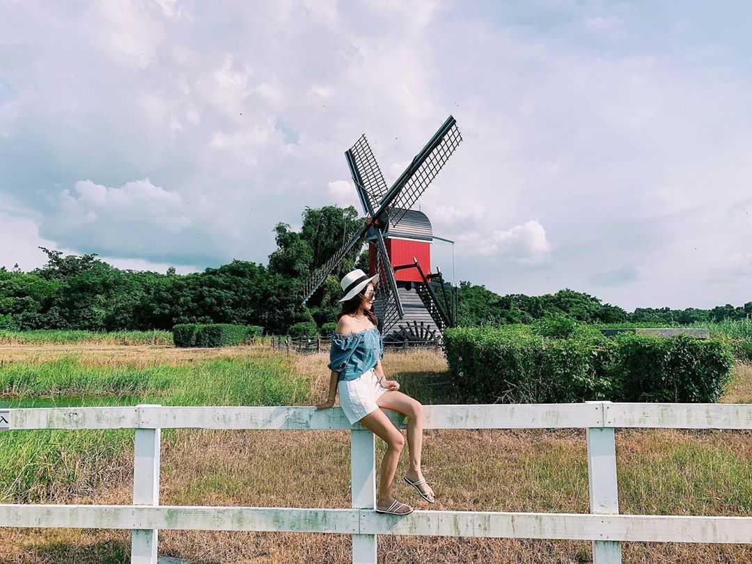 德元埤荷蘭村 風車