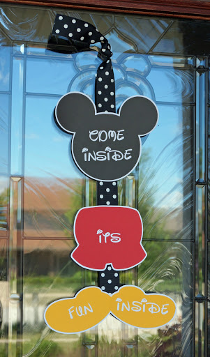 image regarding Come Inside It's Fun Inside Free Printable identified as Mickey Mouse Birthday Celebration -