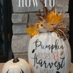 fall pumpkin with cricut vinyl (1)