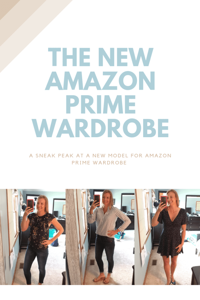 A test of the new Amazon Prime Wardrobe model