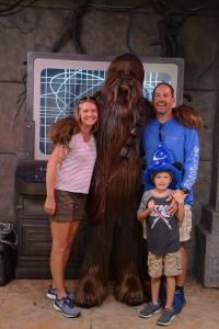 Hollywood Studios Chewbacca
