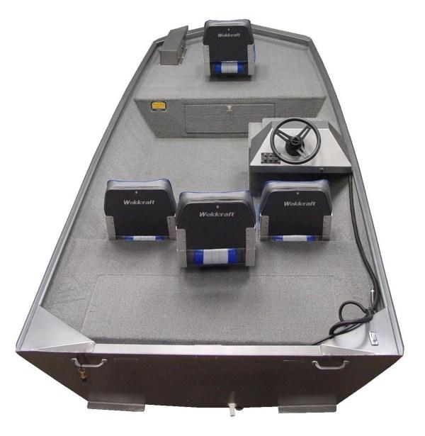 Jon Boat Steering Console - Video Engine
