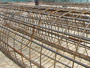 Reinforcement Carbon Steel Rebar Welded Cages for Pits and
