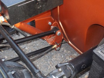Although not our brackets, this is a great example of modifying the bracket to fit the frame.