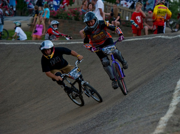 Dave Tucci and Carrie Strange in turn two.