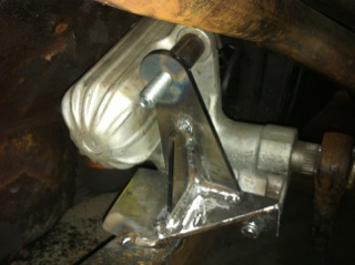 #20492 used as steering box mount.