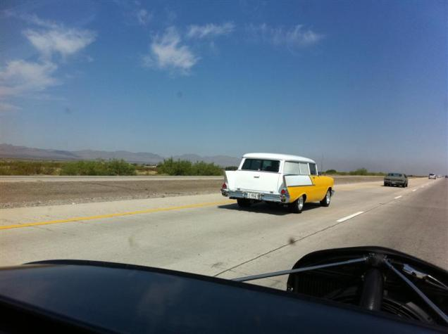 Another road tour beauty - 1957 Chev Wagon.