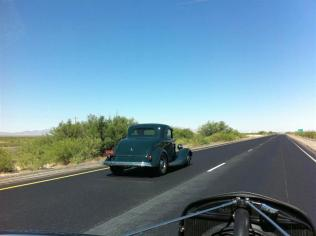 One of our Road Tour members - a pretty 34 Ford coupe