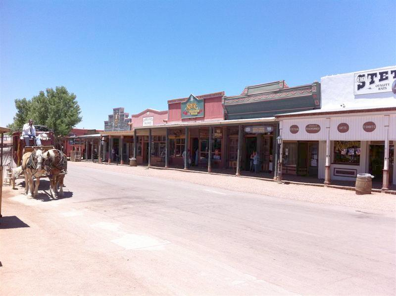 Main street in Tombstone.