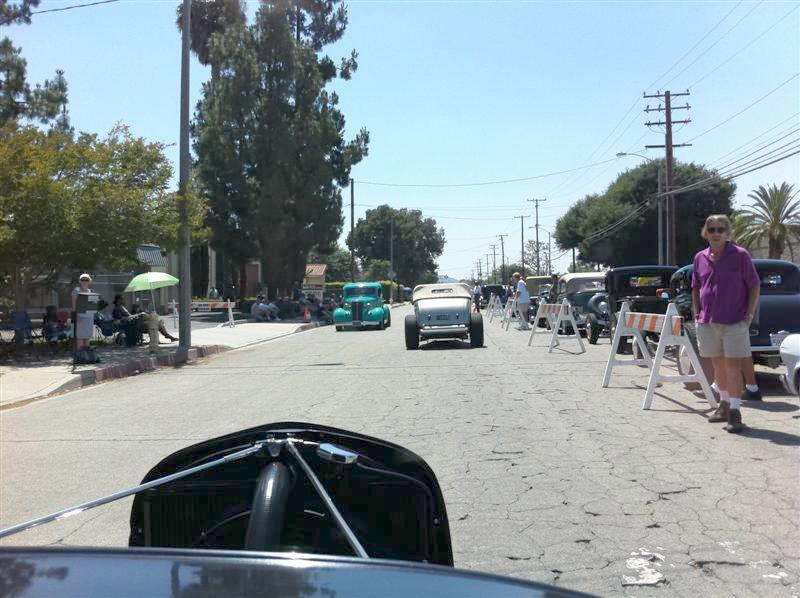 Arriving at SoCal's Open House in Pomona.