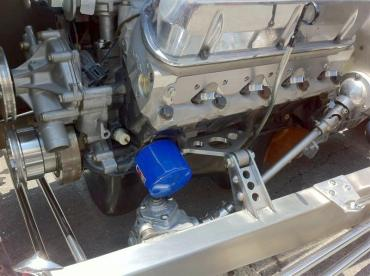 Chuck Lombardo, Jr. tricked out our Welder Series #2050 Ford motor mounts. Pretty sharp, don't you think?