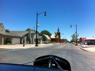 "Closer to the famous corner in Winslow Arizona made famous by the song ""Take it Easy"" recorded by the Eagles."