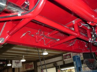 It adds a bunch of connections, but running brake lines through the frame rails is a way to clean up the underside.