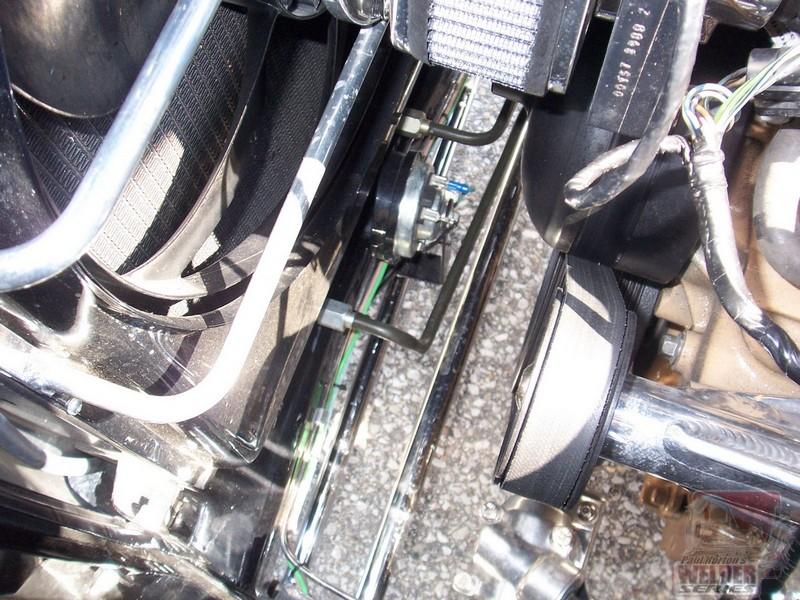 Nice black transmission cooler lines. Are these aftermarket or heat shrinked?