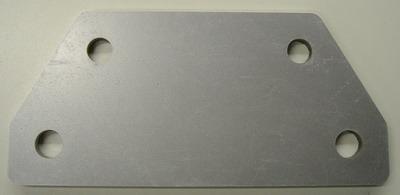 Four hole plate