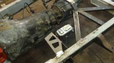 Welder Series master cylinder bracket and transmission support plates.