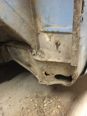 I think this is the worst rust on the truck.