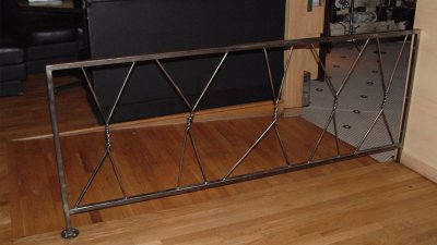 Twisted Fork Railing