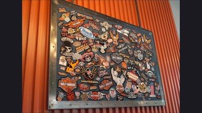 Frame 6 ft wide - Harley-Davidson Museum