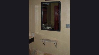 Frame for Bathroom & Shelf