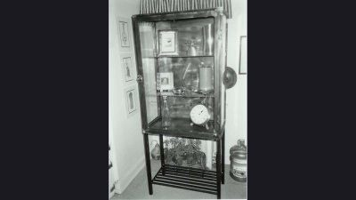 Glass Cabinet 6 ft tall