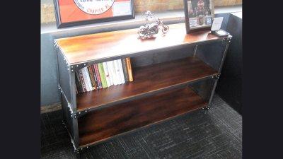 Bookshelf for CEO Harley-Davidson