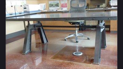 Desk for CEO J.W. Speaker