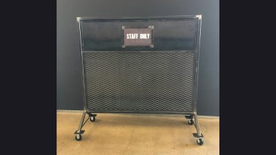 Screen 6 ft wide for Harley-Davidson