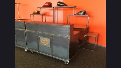 Harley-Davidson Museum - Mobile Bars 6 ft wide