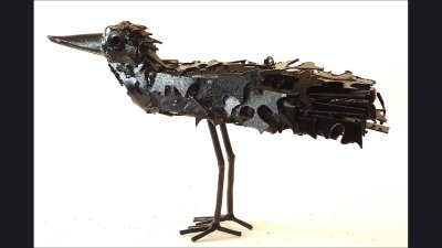 scul-life-size-crow